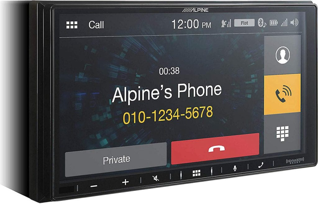 Alpine iLX-W650 Head Unit