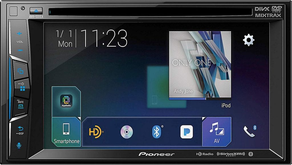 Pioneer AVH-501EX Head Unit