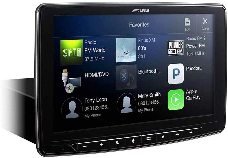 Alpine iLX-F309 Head Unit