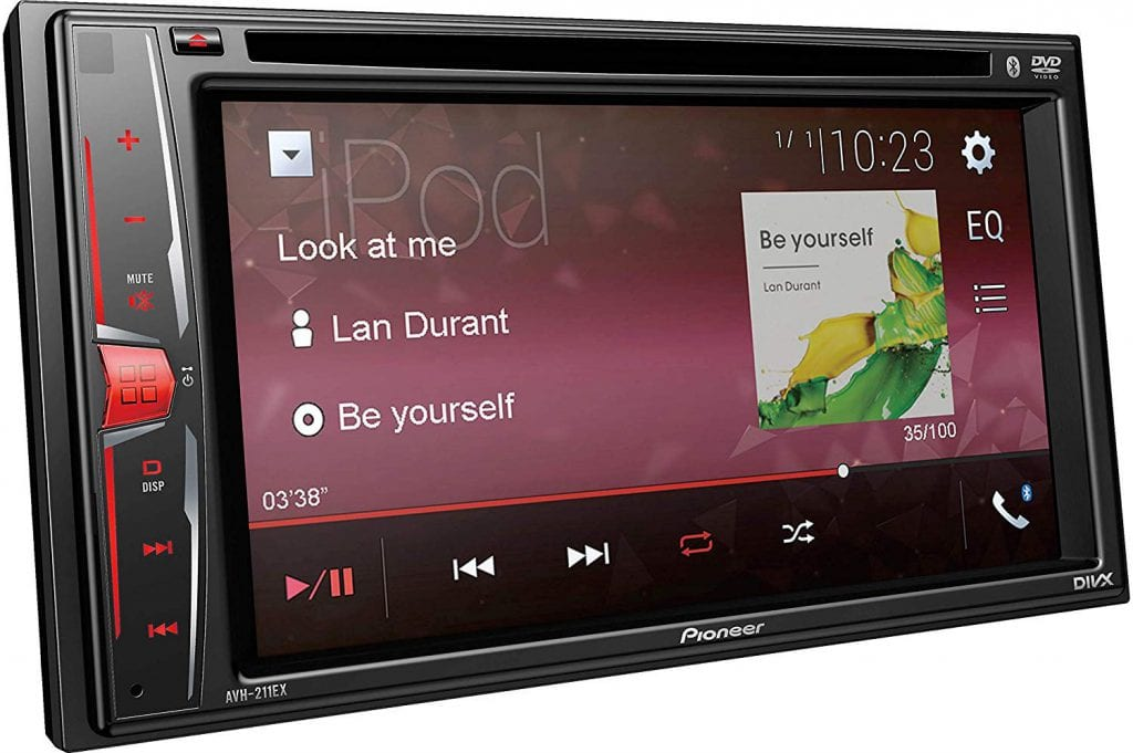 Pioneer AVH-211EX Head Unit