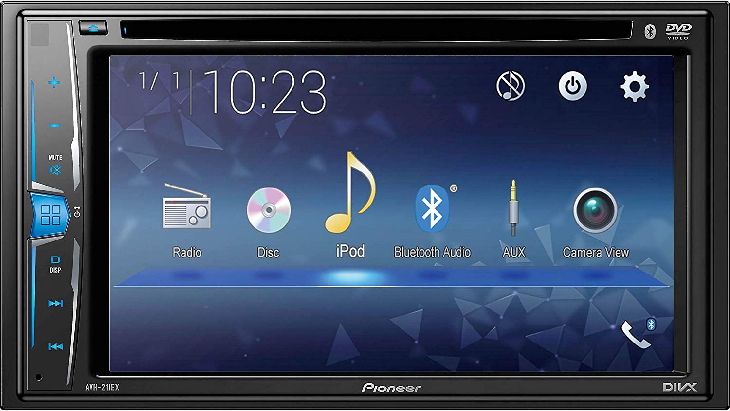 Pioneer AVH-211EX Double Din Head Unit