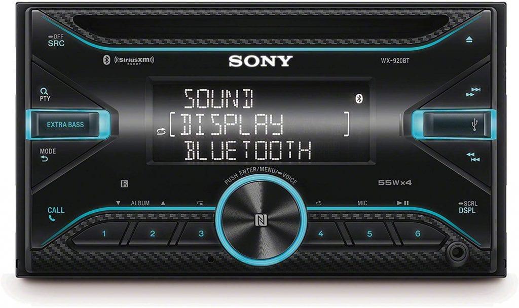Sony WX-920BT 2 Din