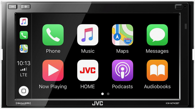 JVC KW-M740BT Head Unit