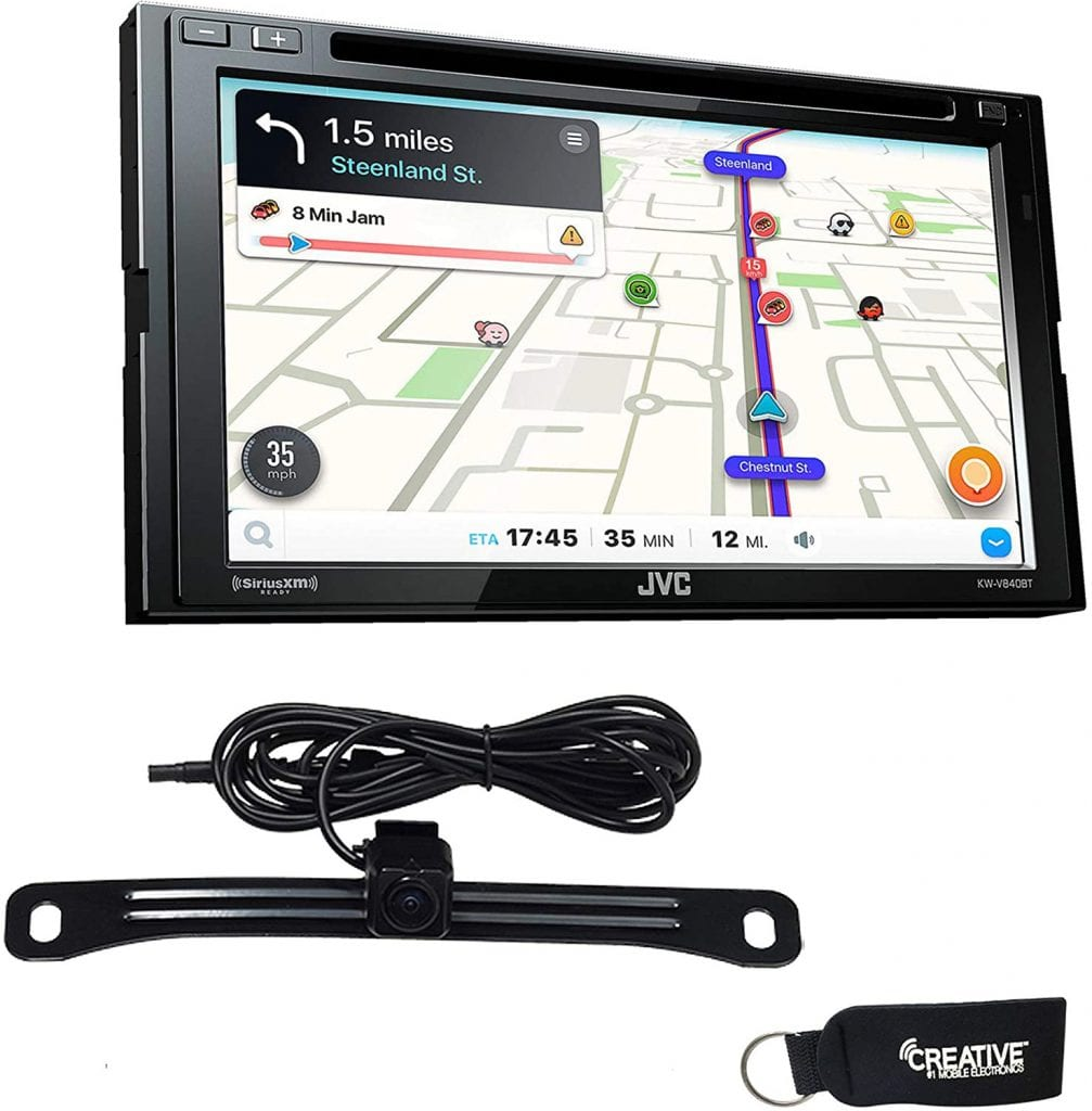 JVC KW-V840BT Double Din Review