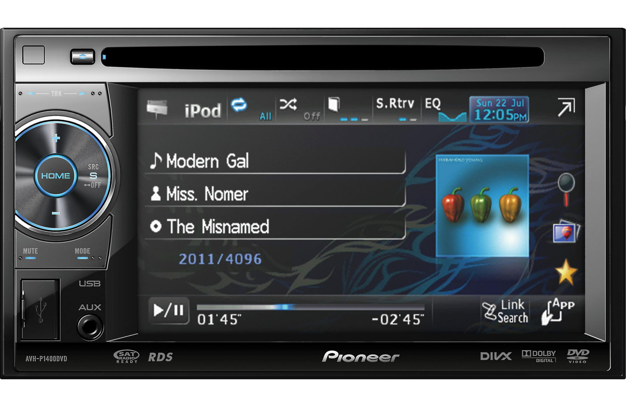 Pioneer AVH-P1400DVD Review