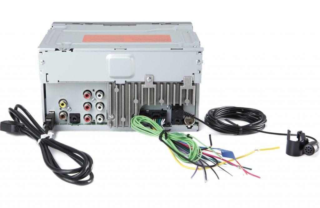 Pioneer MVH-200EX Radio Back