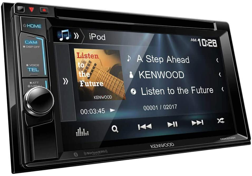 Kenwood DDX374BT 2-DIN Bluetooth