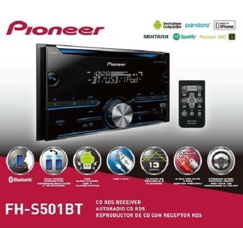 Pioneer Pioner FH-S501BT