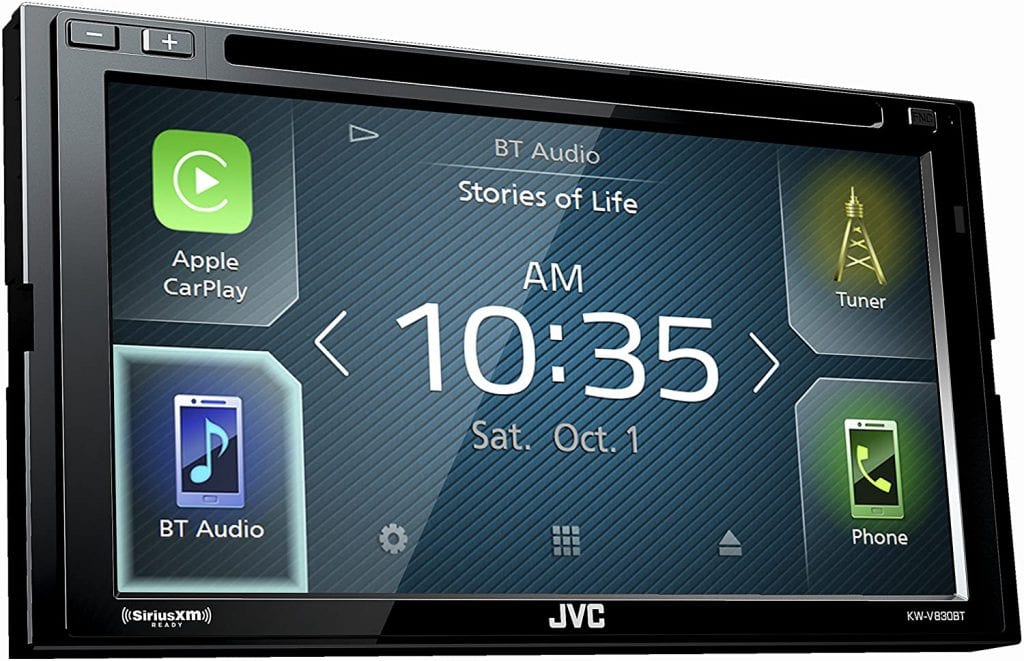 JVC KW-V830BT review
