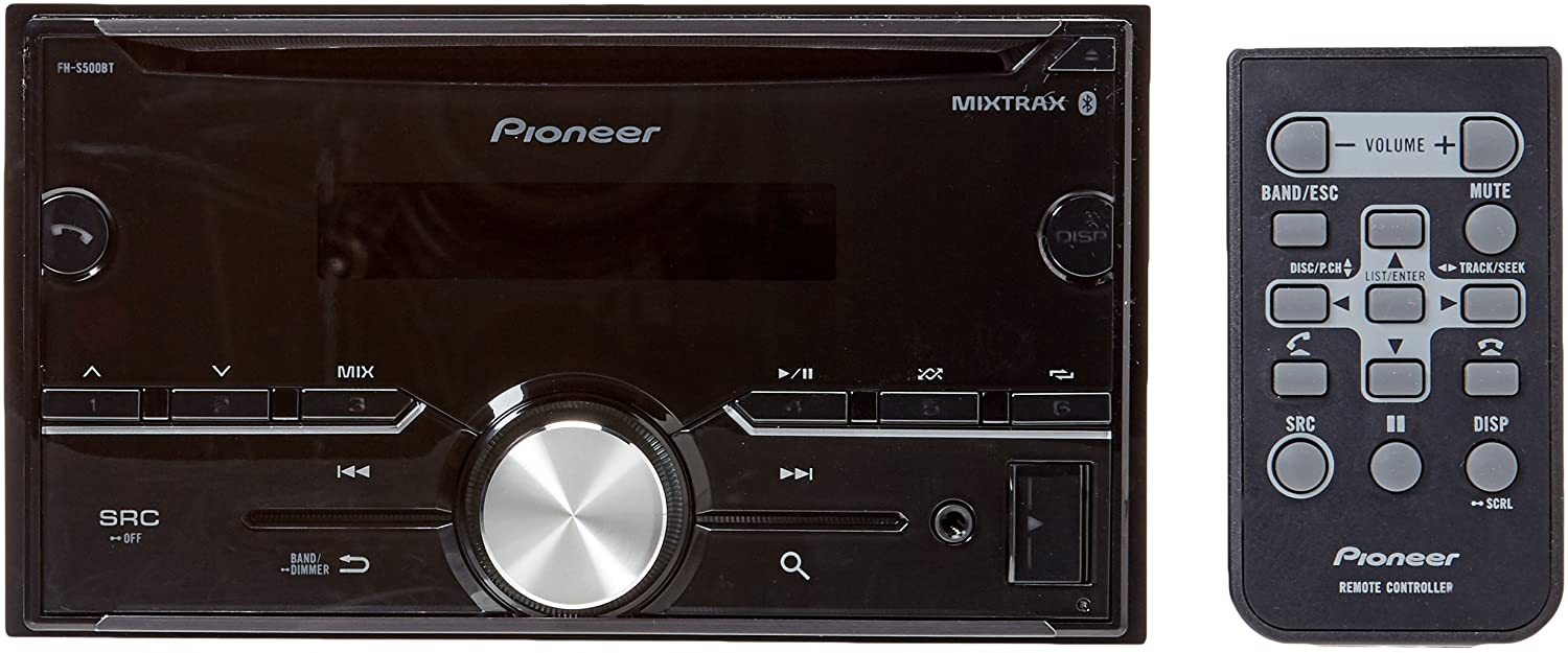 Pioneer FH-S500BT Review